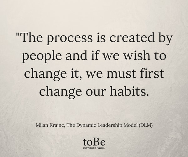 Dynamic Leadership Quotes: The Process Is Created By People
