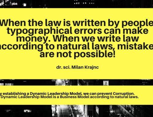 Korupcija, odraz vodenje države!